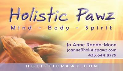 Holistic Pawz Business Card