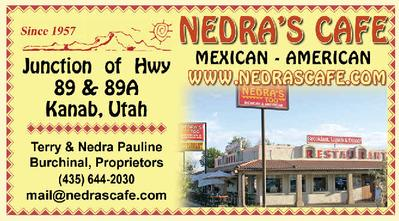Nedra's Cafe Business Card