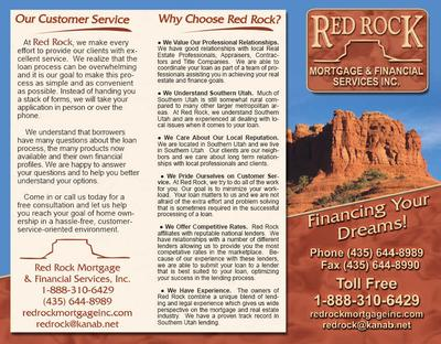 Red Rock Brochure